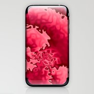 Bubble Gum Curlicue iPhone & iPod Skin