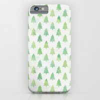 Simple Pine Tree Forest … iPhone 6 Slim Case