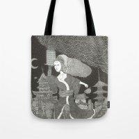 Tenzaru Girl Tote Bag