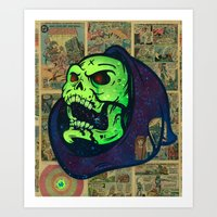 Skeletor Art Print