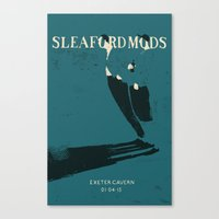 Sleaford Mods Canvas Print