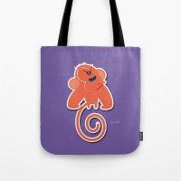 Angry moonkey  Tote Bag