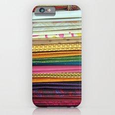indian sarees iPhone 6 Slim Case