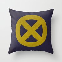 X-Men (Super Minimalist series) Throw Pillow