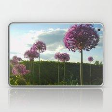 Purple Pansy Laptop & iPad Skin
