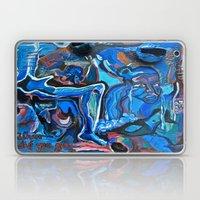 The Blue Cadaver Laptop & iPad Skin