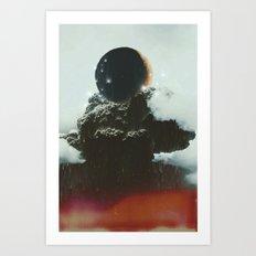 Final Eclipse Art Print