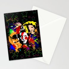 Bowie PopArt Metamorphosis Stationery Cards