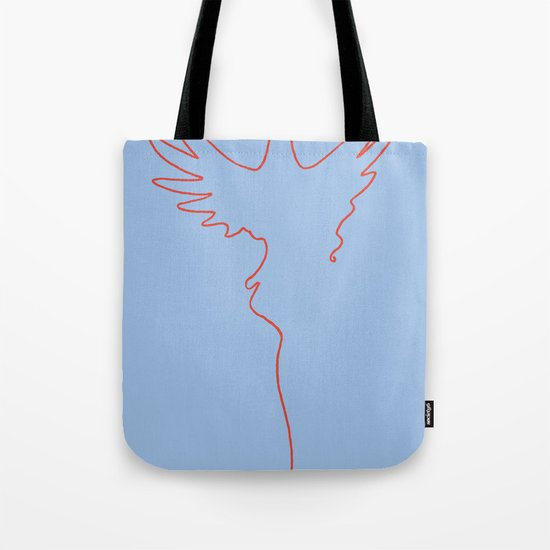 Yarning To Be Free Tote Bag