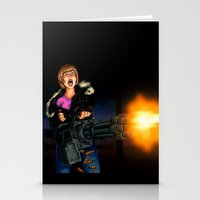 Gatling Girl Stationery Cards