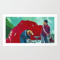 Return To Ruby Mountain Art Print