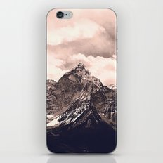 Pink Mountain iPhone & iPod Skin