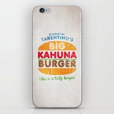 Big Kahuna Burger iPhone & iPod Skin