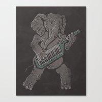 Trunk Rock Canvas Print