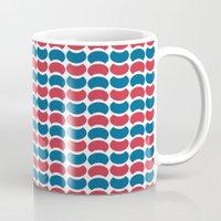Hob Nob America Stripes Mug