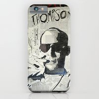 iPhone & iPod Case featuring Dr. Hunter S. Thompson by Mike Oncley