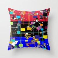Viva La France Equinox E… Throw Pillow