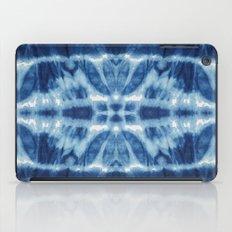 Tie Dye Blues Twos iPad Case