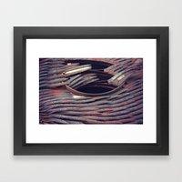 Rust 8 Framed Art Print