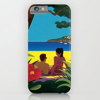 A Shaded Beach iPhone 6 Slim Case