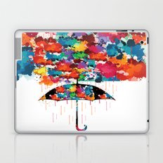 Rainbow rainy day Laptop & iPad Skin