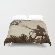 Steampunk Explorer Duvet Cover