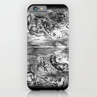 iPhone & iPod Case featuring Power Animals by Artbox