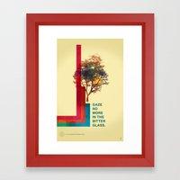This Tree. Framed Art Print