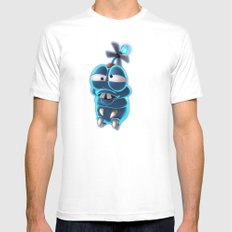 Doofy Grubble Mens Fitted Tee White SMALL