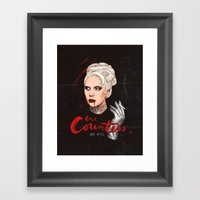 The Countess, Elizabeth Framed Art Print
