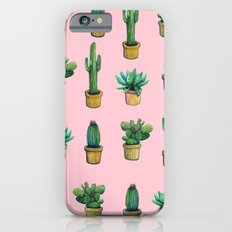 cactus pink iPhone 6 Slim Case