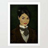 The picture of Sasha Gray Art Print