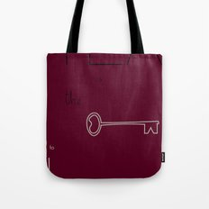 Tea is the Key to Happiness Tote Bag