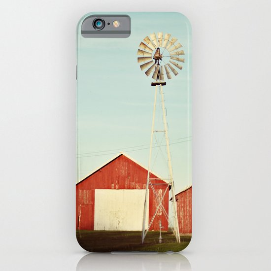 the red barn iPhone & iPod Case