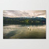 Der See Canvas Print