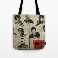 Tote Bag featuring So Many Choices (Doctor … by Sbs' Things