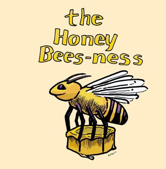 The Honey Bees-ness Canvas Print