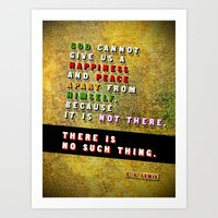 No Such Thing Art Print