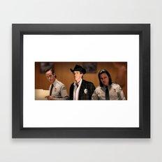 Interior Sheriff Framed Art Print