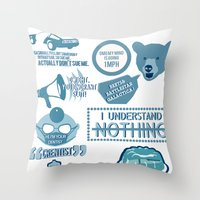 The Office - Quotes And … Throw Pillow