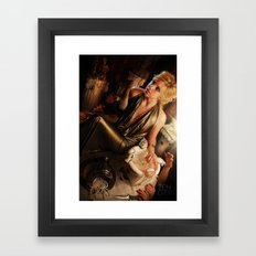 Upon These Hands Framed Art Print