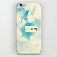 Dare to Fly II iPhone & iPod Skin