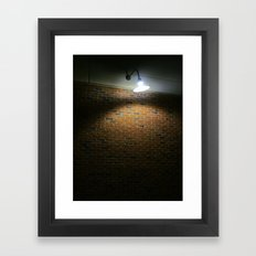 Tungsten Filament In Complete Overload Framed Art Print