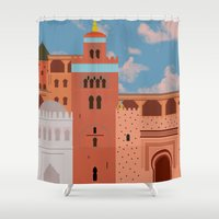 Moroccan Arch Shower Curtain