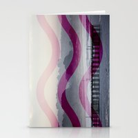 Waves and Pier Stationery Cards