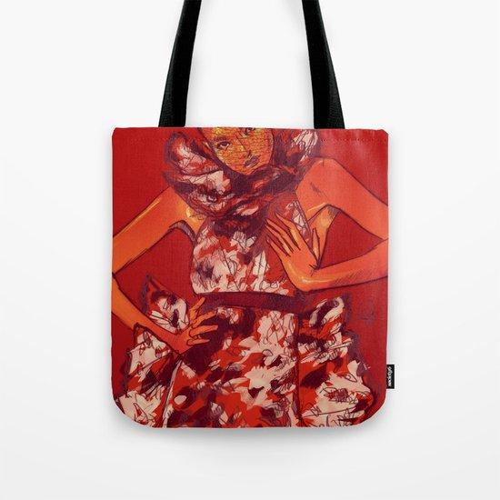 i bring you flowers Tote Bag