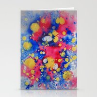 Colour Mix I Stationery Cards