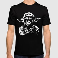 Only Once You Live Mens Fitted Tee Black SMALL