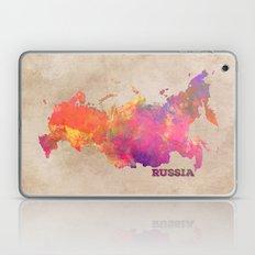 Russia map Laptop & iPad Skin