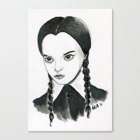 Wednesday Canvas Print